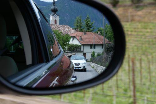 auto column mirror