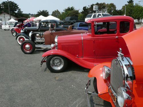 auto show automobile vintage