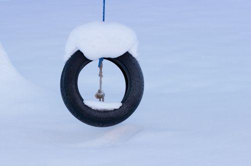 auto tires mature tire swing