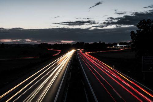 autobahn traffic lights