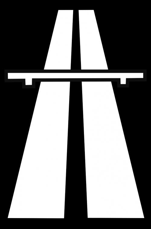 autobahn highway road sign