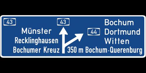 autobahn road sign symbol