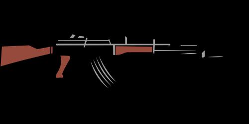 automatic gun kalashnikov