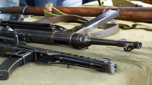 automatic machine gun  schmeiser  soviet
