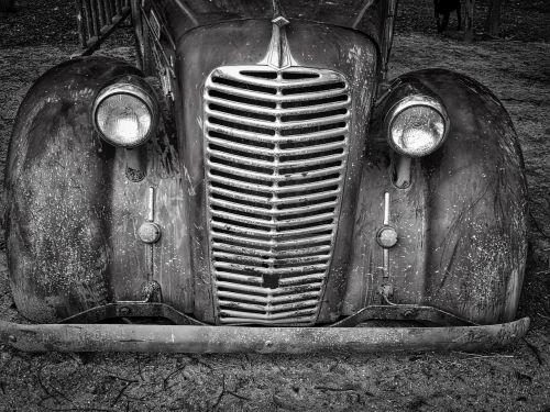 automobile radiator front