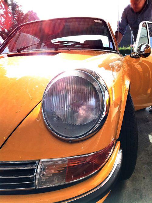 automobile car close up
