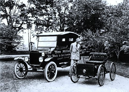 automobiles henry ford vintage