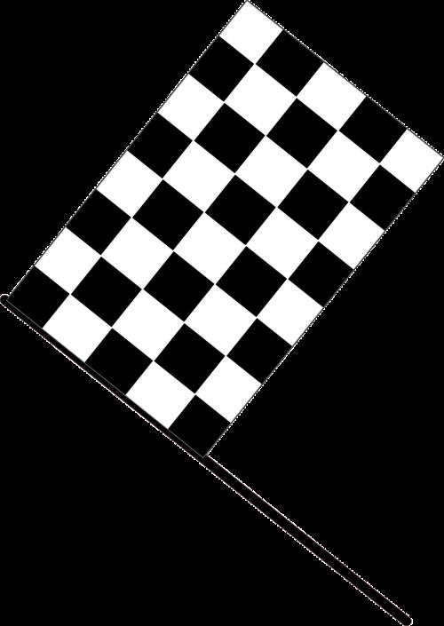 automotive car checkered
