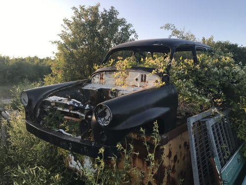 automotive rusty old