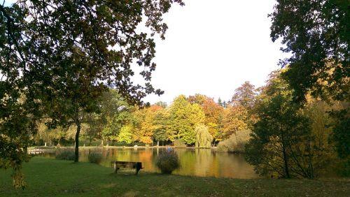 autumn park east frisia