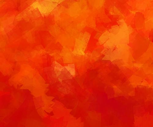 autumn orange red