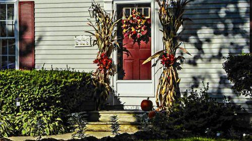 Autumn Front Door