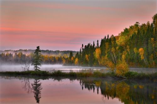 autumn landscape nature colors
