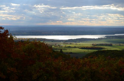 Autumn View From The Hills 01