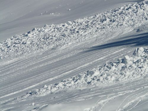 avalanche avalanche cone snow