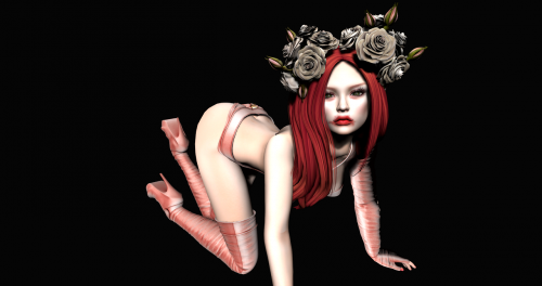 avatar female pose