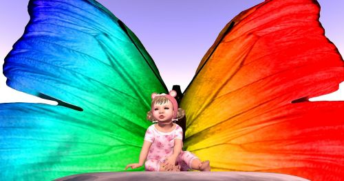 avatar baby butterfly