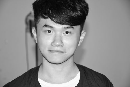 avatar own black and white photograph