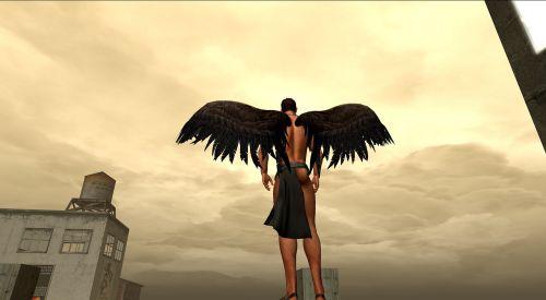avatar angel sky