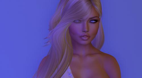 avatar woman blue