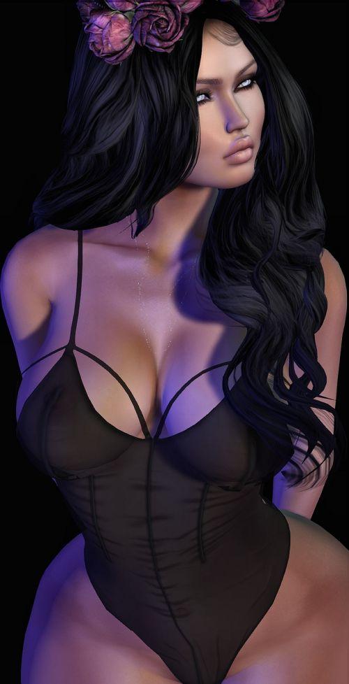 avatar woman roses