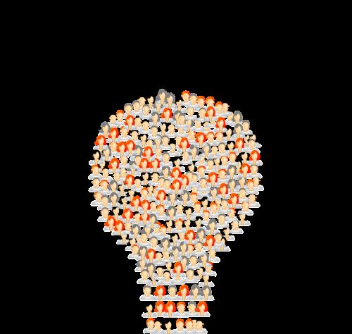 avatars light bulb people
