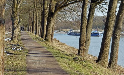 avenue towpath dortmund ems channel