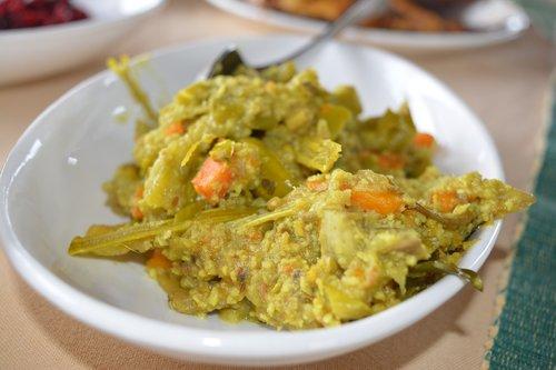 avial  indian food  vegetable