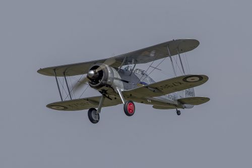 aviation gloster biplane