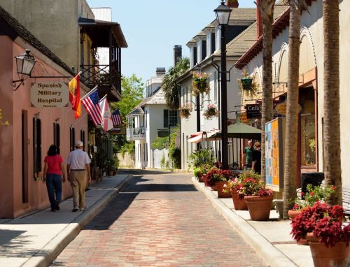 Aviles Street St. Augustine, Fl.