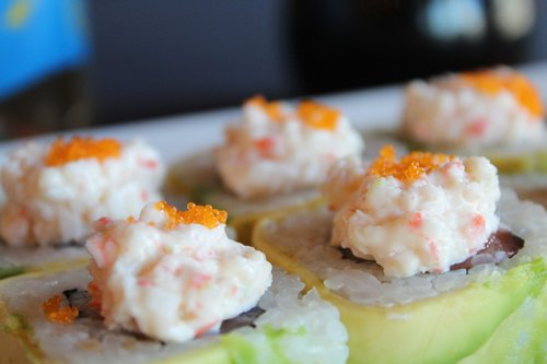 avocado  sushi  tampico