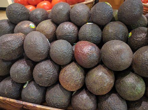 avocados super markets vegetable stand