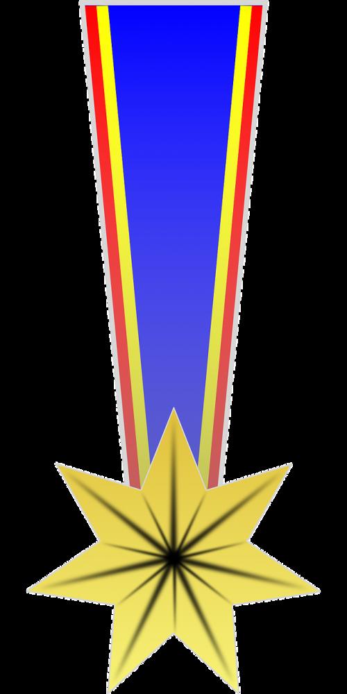 award medal ribbon