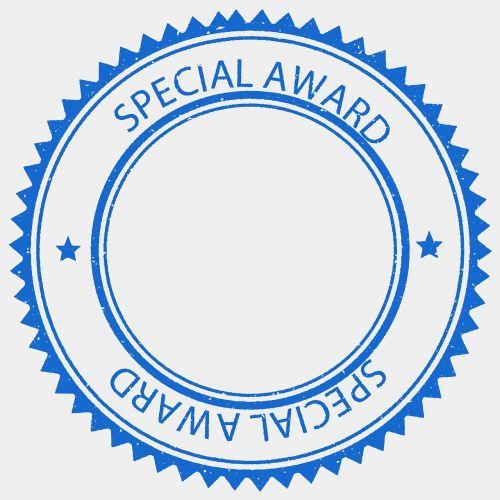 award prize stamp