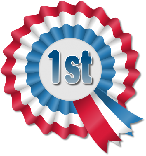 award ribbon rosette win