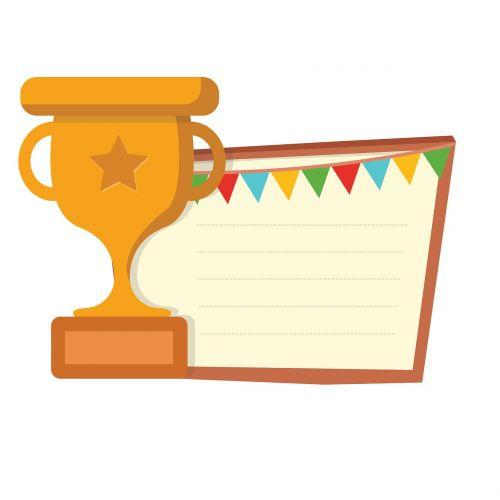 awards win label