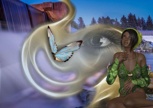 awareness natural beings woman