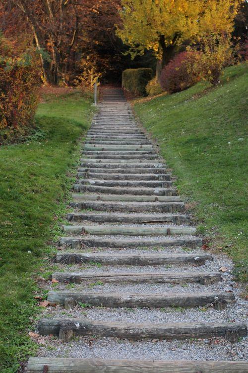 away stairs gradually