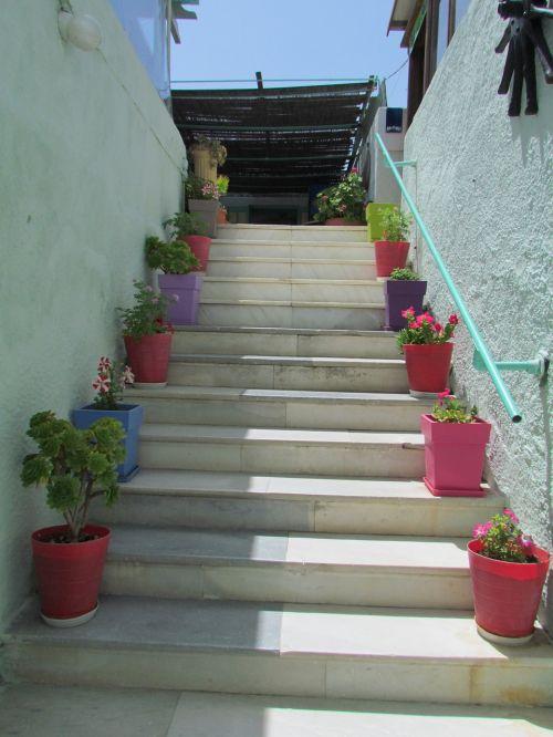away stairs upward
