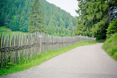 away fence wood fence