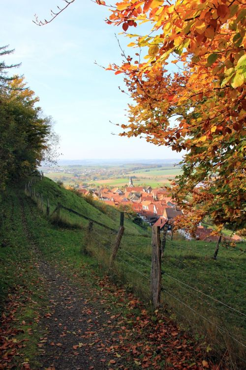 away fence landscape
