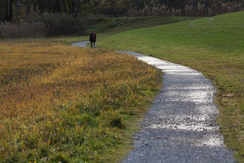 away walk sidewalk