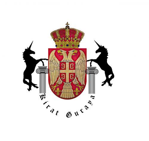 coat of arms antique horses