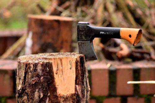 ax lumberjack wood