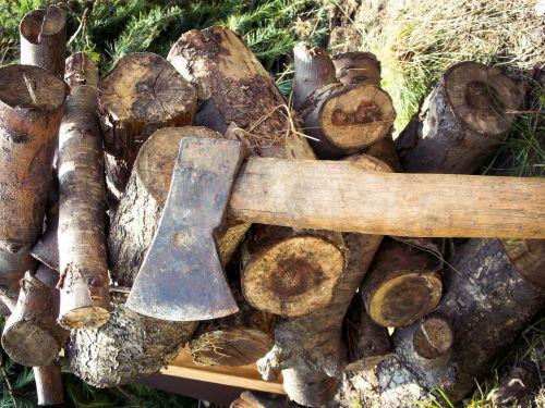 ax wood hacking