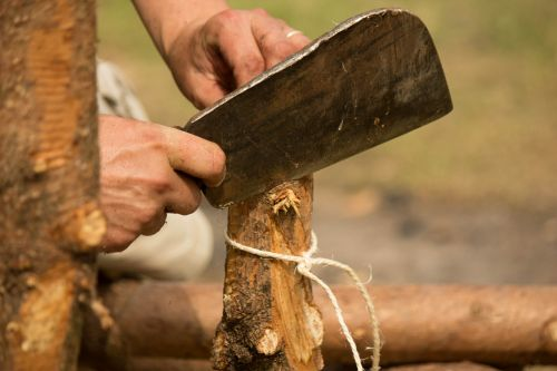 axe scout wood craft
