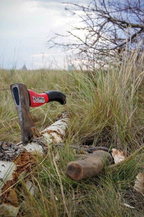 axe wood chop blade