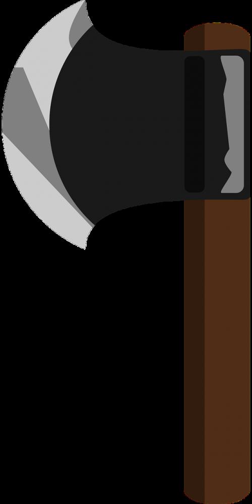 axe wood tool