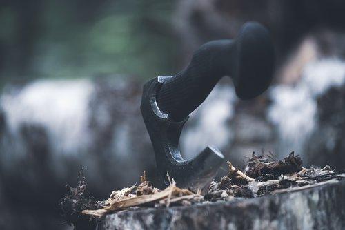axe  vikings  weapons