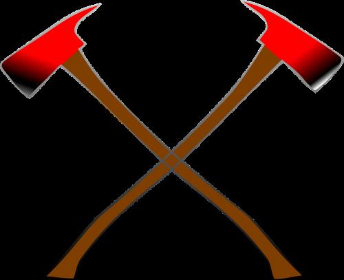 axes crossed vikings